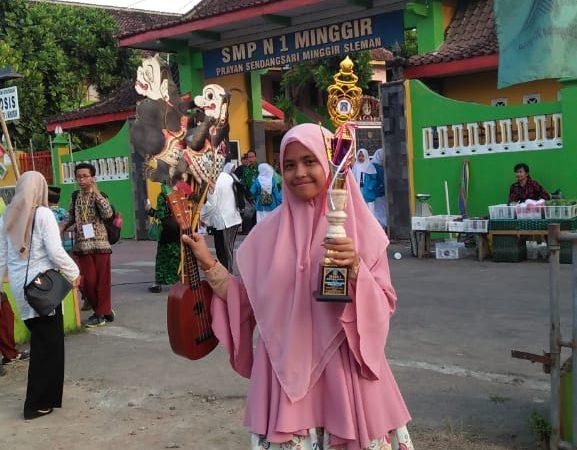 Kejuaraan Pidato PAI Putri tingkat Kabupaten Sleman dan Provinsi DIY