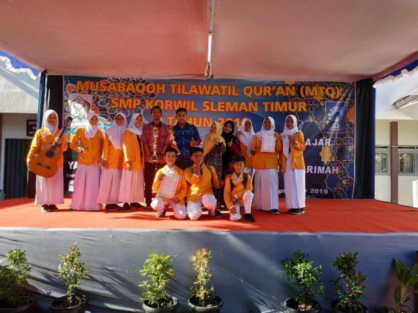Kejuaraan MTQ Pelajar Korwil Sleman Timur di SMP Negeri 1 Depok