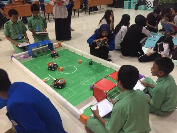 Lomba robot Soccer UII