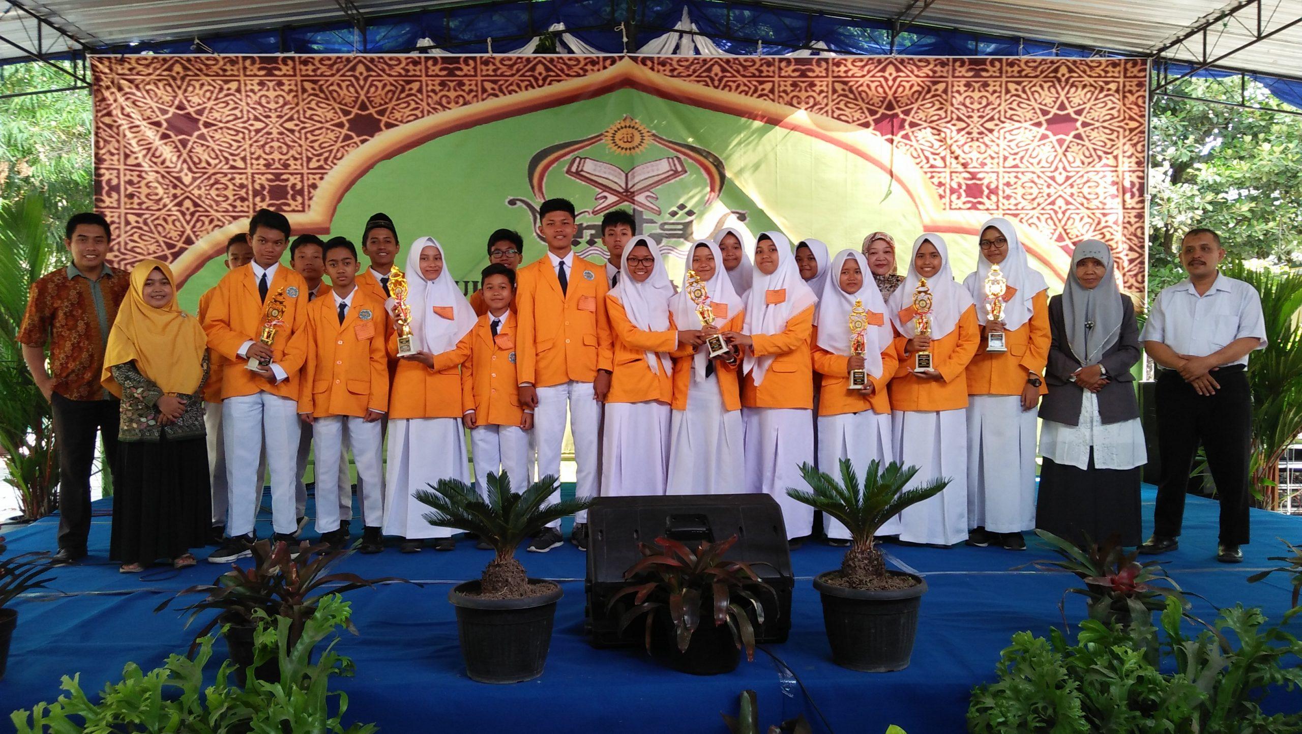Kejuaraan MTQ Pelajar di SMP Negeri 3 Depok